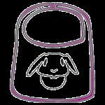 Baby Lätzchen bedrucken lassen, Textildruck, Textil