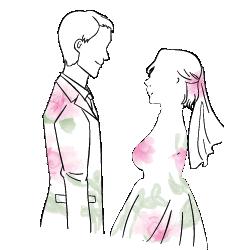 Hochzeit, Brautpaar, Hochzeitspaar, Brautleute, Traupaar