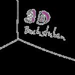 3D Buchstaben aus Acrylglas, Holz und Aluminiumverbundplatte