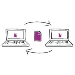 Datentransfer