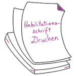 Printing Habilitation Thesis in Bonn