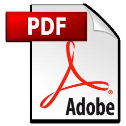 Adobe PDF Logo, Dateitypen