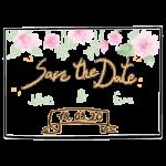 Save the Date karten drucken lassen in Bonn für die Hochzeit