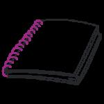 Spiralbindung, Plastikspiralbindung, Metallspiralbindung