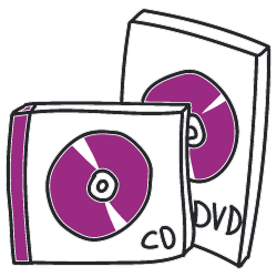 burning and printing of CDs and DVDs