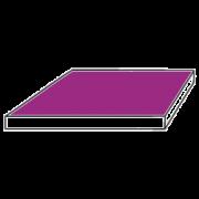 Hartschaumplatte oder Forexplatte