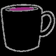 Tassen, Becher und Gläser